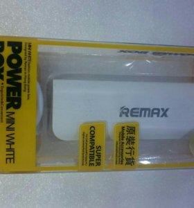 Remax внешняя аккумулятор 2600mAh