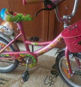 """СРОЧНО!!! Велосипед для девочки """"маша и медведь""""."""