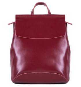 Рюкзак -сумка из натуральной кожи (трансформер)