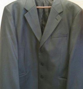 Костюм пиджак+жилет+рубашка