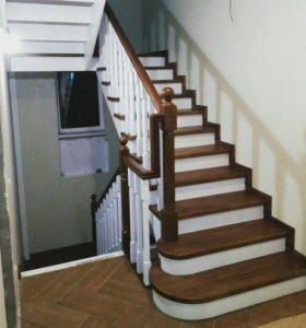 Изготовление лестниц и мебели