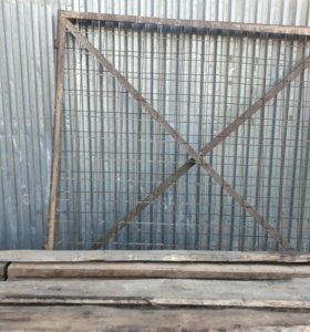 Распашные двустворчатые ворота