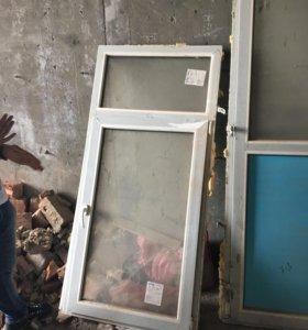 Окно и дверьпластик новое
