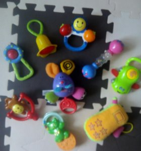 Fisher Price canpol babies и др