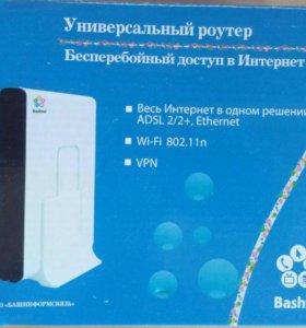 Роутер - ADSL 2/2+, Wi-fi