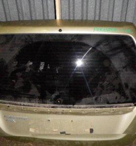 Дверь багажника со стеклом Forester (S11) 2002-