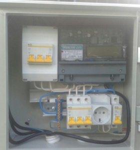 Электрик с большим опытом работ,  дачи, коттеджи.