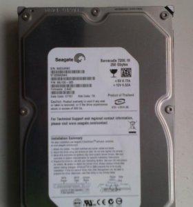 Жёсткий диск 250 Гб. SATA. Состояние хорошее