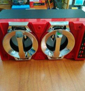 Портативная стереоакустика Bluetooth