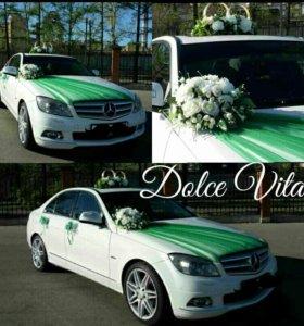 Свадебные Украшения на машину прокат