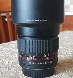 Samyang 85mm f/1.4 AS IF UMC Canon EF