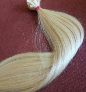 Блонд люкс волосы для наращивания гарантия 6 мес