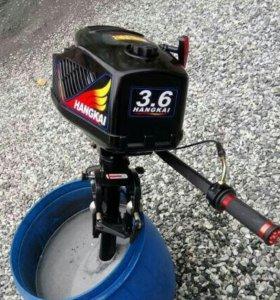 Лодочный мотор Ханкай 3.6 л.с