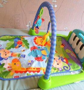 "Развивающий коврик Fisher price ""Пианино"""