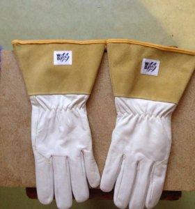 Перчатки кожаные сварочные НОВЫЕ