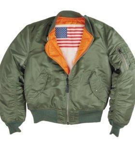классическая летная куртка ВВС США