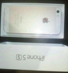 Айфон 5s 16 гб. новый
