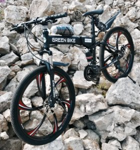 Велосипед Greenbike, складной на дисках