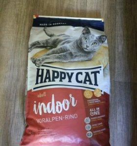 Корм для кошек Happy Cat говядина