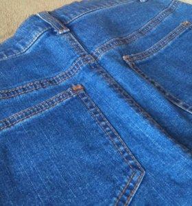 Джинсовая юбка, размер 42-44
