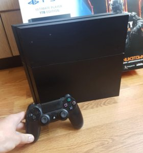 Sony PlayStation 4 1000 gb +dualsh 4