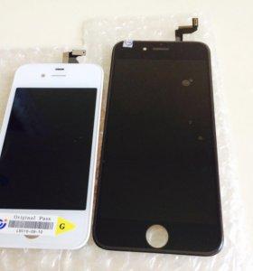 Замена дисплей iPhone 6S с тачскрином чёрный
