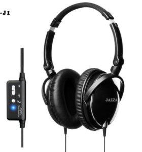 Наушники Jazza с активным шумоподавлением ANC-J1