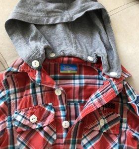 Продам рубашку topolino 98