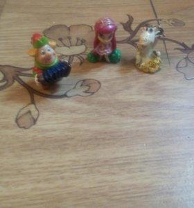 Мелкие игрушки!