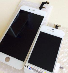 Дисплей iPhone 6 Plus с тачскрином белый