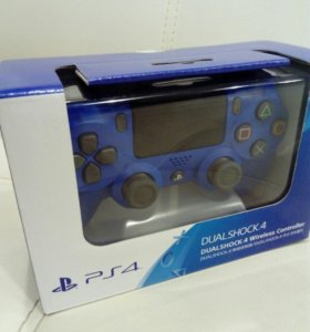 Геймпад Dualshock PS4 Blue (Джойстик) V2