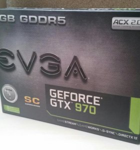 Видеокарта GeForce GTX 970