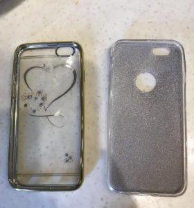 Чехлы новые для iPhone 6