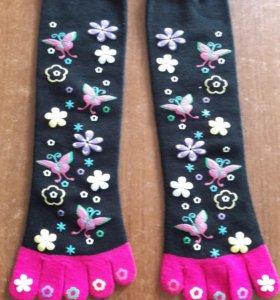 Носочки с пальчиками