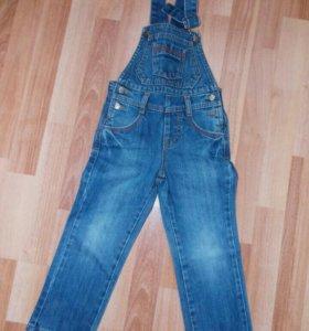 Комбез джинсовый и брюки