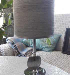 Новый серебряный светильник