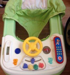 Ходунки, стульчик для кормления-кресло качалка