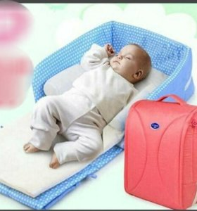 Портативная кроватка- сумка