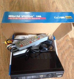 Приемник для цифрового телевидения DVBT2