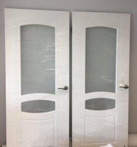 Дверь межкомнат. с короб., ручкой; в нал. 2 шт.,