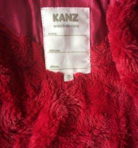 Красивое пальто Kanz на 3 года (98).Зима, демисезо