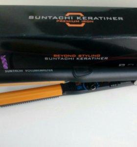 Щипцы для завивки волос полукруглые Suntachi