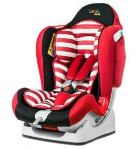 Автокресло Liko-Baby LB 510 Красный/Черный