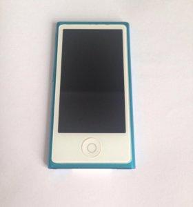 iPod nano 7. 16 гб с чехлом