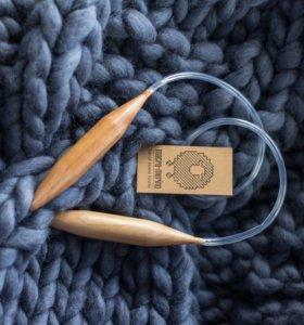 Спицы для вязания толщина 2 см