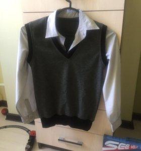 Обманка - рубашка140-146