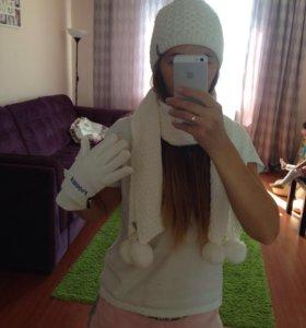 Комплект шапка,шарф,перчатки Outventure