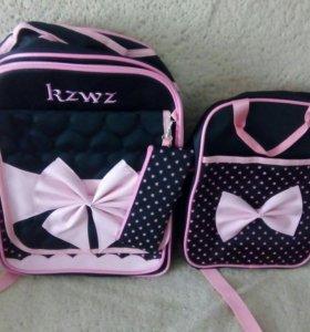 Новые 3в1 рюкзак, сумка,пенал