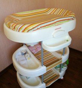 Столик пеленальный-ванночка
