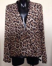 Новая блуза Zara леопардовая